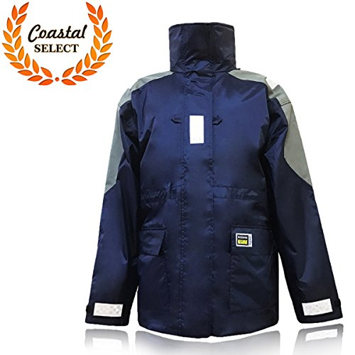 Sailing fishing surfing foul weather gear jacket size xl for Foul weather fishing gear