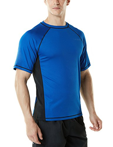 Mens Rash Guard Shirt Loose Fit